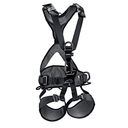 61CB3y8QYxL._SX425_ amazon com petzl avao bod fast fall arrest harness black size 1 csa