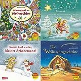 Warten auf den Weihnachtsmann (4x1 Exemplar) (Maxi-Pixi-4er-Set, Band 53)