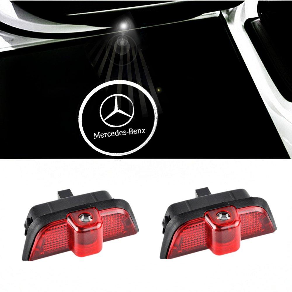 Benz 2 ColorBuy T/ürlicht Projektor Logo T/ür Einstiegsbeleuchtung Einstiegslicht Autot/ür