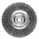 6 inch fine grinder wheel - Ansen Tools AN 305 6-Inch Wire Bench Wheel Fine Crimped with 1/2-Inch Arbor