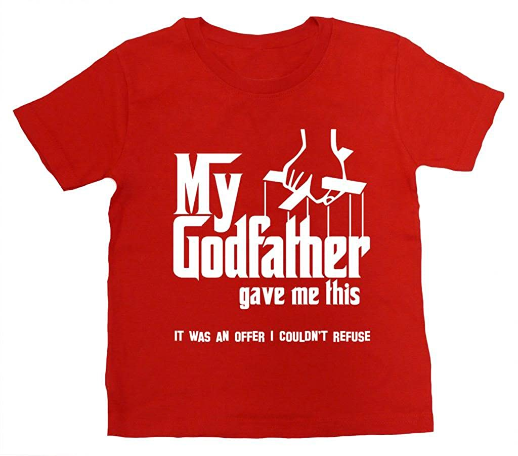 Dirty Fingers, Girl's T-shirt, My Godfather gave me this... Girl' s T-shirt