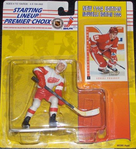 Sergei Fedorov 1994 Canadian Starting Lineup (Nhl Fedorov Sergei)