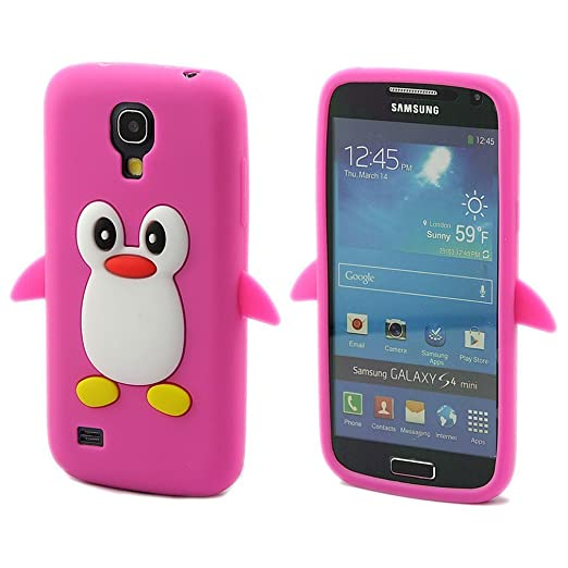 2 opinioni per Semoss 3D Pinguino Custodia Cover in Silicone Gel per Samsung Galaxy S4 Mini