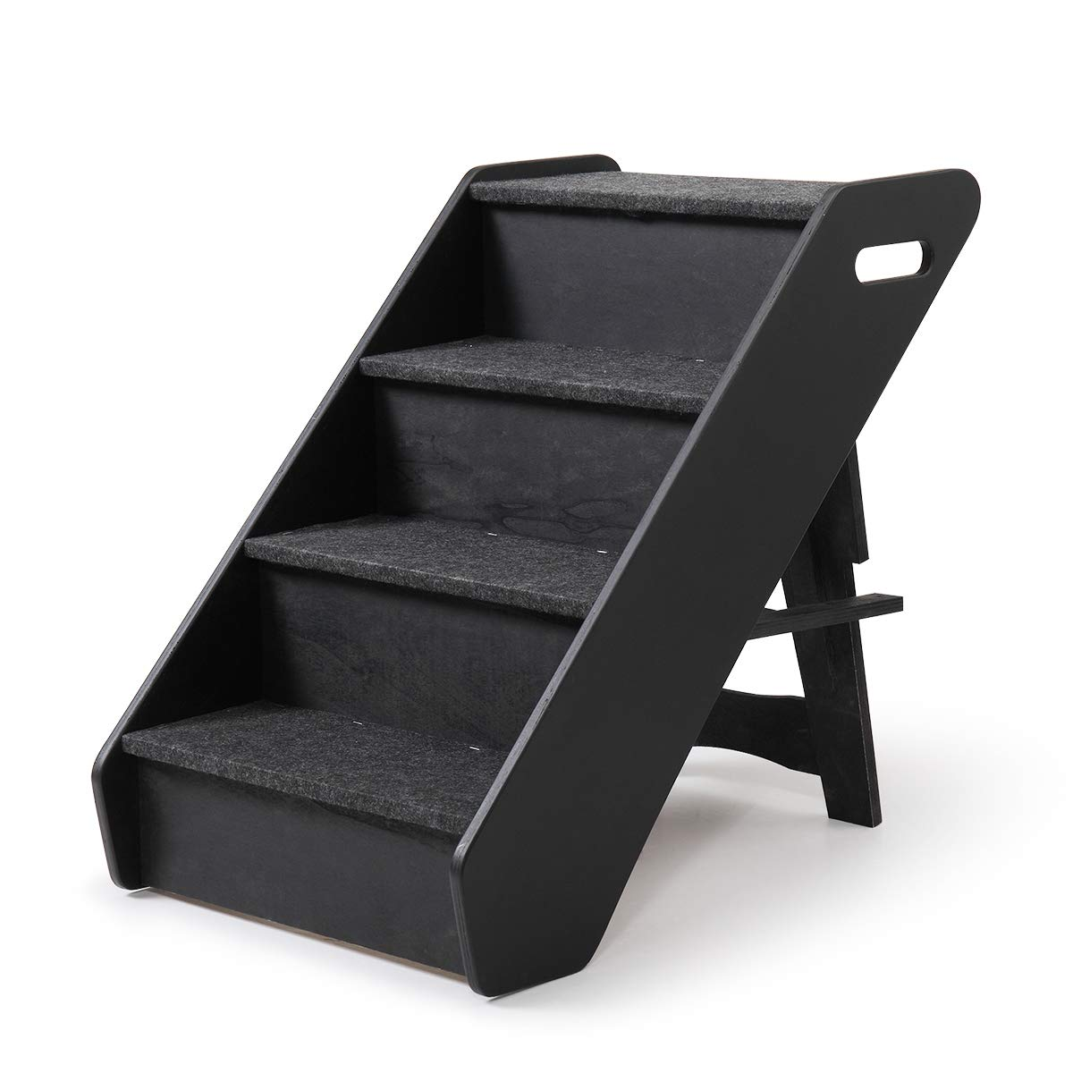 Sandinrayli Dog Steps 4 Steps for High Bed Pet Stairs Small Dogs Cats Ramp Ladder by Sandinrayli