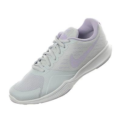 NIKE Women's City Trainer Training Shoes (Pure Platinum/Violet Mist) 6.5
