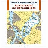 Deutsche Binnenwasserstraßen 1, Mittellandkanal und Elbe-Seitenkanal.