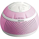 Homedics Sound Spa Mini Portable Sound Machine, Pink