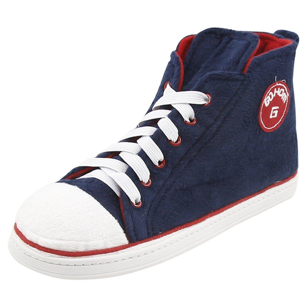 Gohom Ladies Slippers Womens Outdoor Slipper Boots Sneaker Navy US Women Size 9