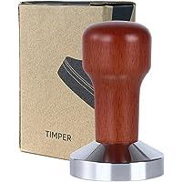 Tongke 51mm Coffee Tamper Barista Espresso Coffee Bean Press Flat Base -51mm