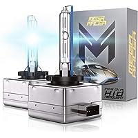 $21 » Mega Racer D1C D1R D1S HID Headlight Bulb Xenon D1S Bulbs HID Headlights 10000k HID…