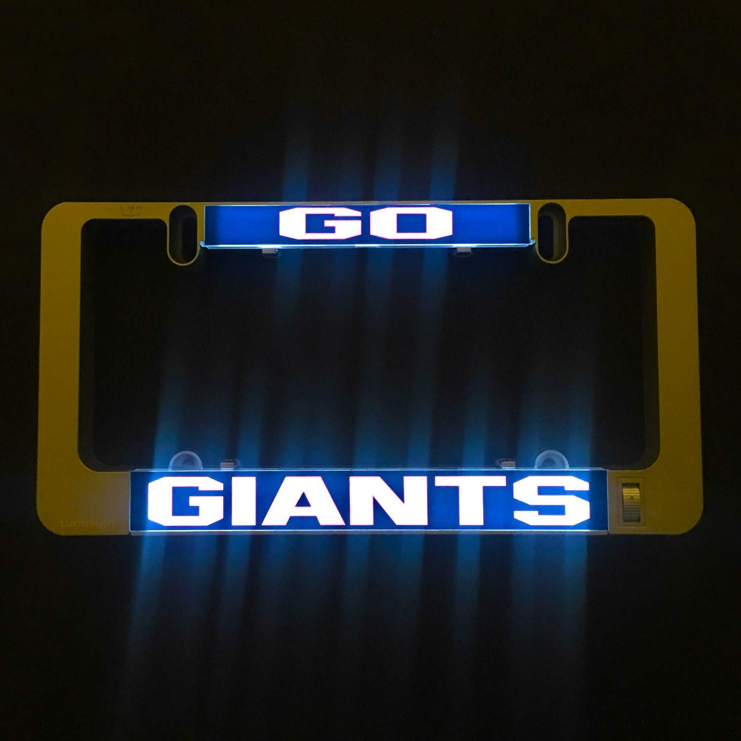 Frame Sold Separately Inserts for LumiSign Fall Collection Go Pats
