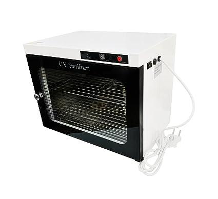 Crisnails® Esterilizador de calor Alta Temperatura Esterilizador Calentador de la toalla para salón de belleza