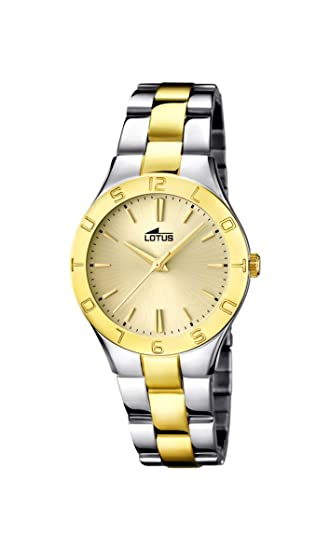 Amazon.com: Ladys Watch - Lotus - Stainless Steel Band - 15896/1: Watches