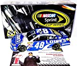 AUTOGRAPHED 2015 Jimmie Johnson #48 Lowes Racing BUDWEISER DUEL WIN (Raced Version) Hendrick Motorsports Signed Lionel 1/24 NASCAR Diecast Car with COA (#329 of only 745 produced!)