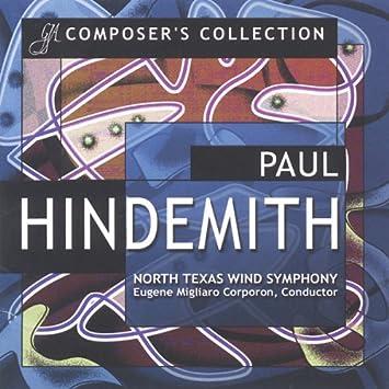 Amazon | パウル・ヒンデミット作品集 Paul Hindemith - Composer's ...