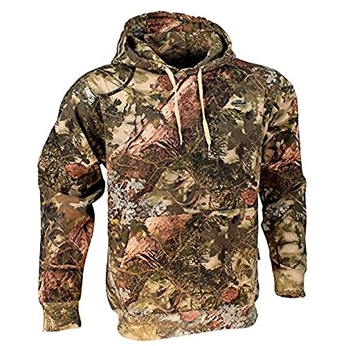 King's Camo Cotton Hunting Hoodie, Mountain Shadow, Medium