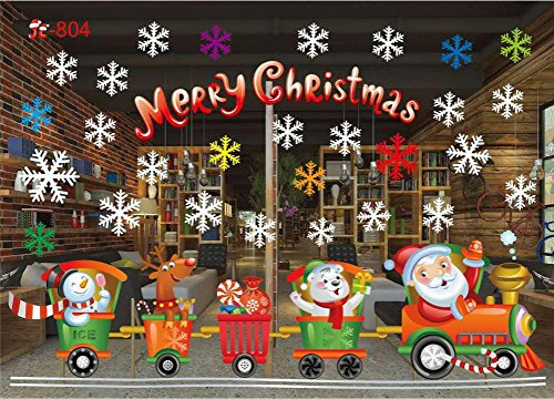 Hot Sale ! Xmas Santa Claus Wall Stickers,Beautyvan Charming Happy Halloween HalStyle Pedestal Rug + Lid Toilet Cover + Bath Mat 3PC/Set (D) - Cute Happy Halloween Wallpaper
