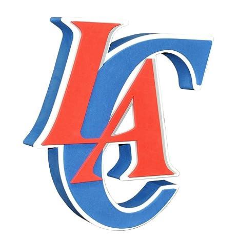 4e60b399454 Amazon.com : NBA Los Angeles Clippers 3D Foam Logo : Sports Fan ...