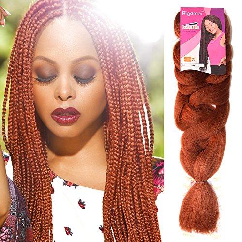 Kanekalon Jumbo Braiding Hair Synthetic High Temperature Fiber Jumbo Braid Hair-1Pcs/Lot #350 Color 84