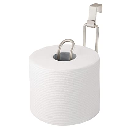 Amazoncom Mdesign Metal Over The Tank Toilet Tissue Paper Roll