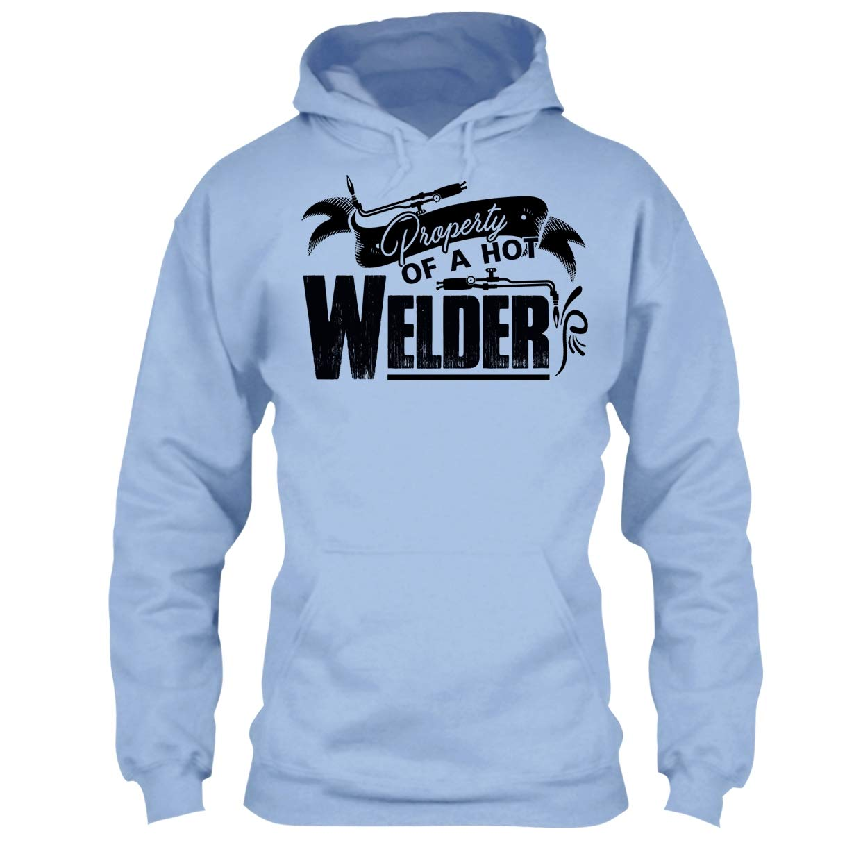 Welder Cool Tshirt Property of Hot Welder T Shirt Design