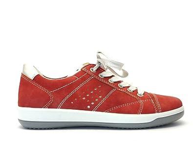 separation shoes 373a6 e0fed ara Shoes, Damen Sneaker, rot - rot - Größe: 40 EU: Amazon ...