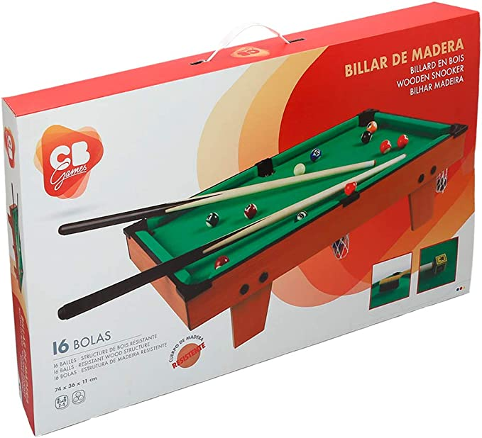Colorbaby Billar americano madera CBGames (43269): Amazon.es ...