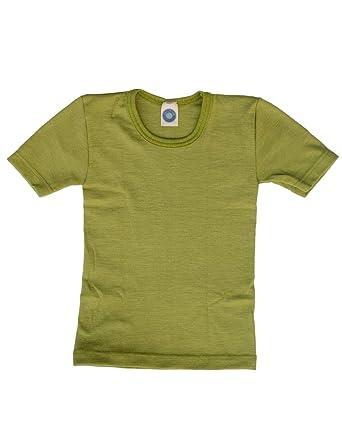 925de329ef31e Cosilana, Kinder Unterhemd/T-Shirt, 70% Wolle und 30% Seide: Amazon ...