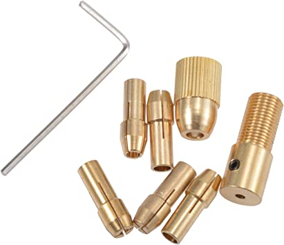 10 Pieces Drill Chuck Collet 3.0mm Rotary Tool Rust Resistant