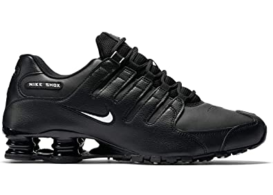 huge discount aa7db 4d17e Nike Men s Shox NZ Running Shoe Black - 7 D(M) US