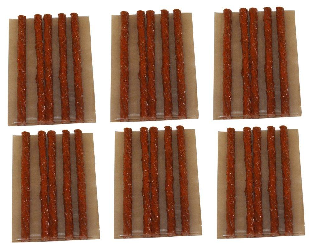 Aerzetix: Lot de 30 mè ches longues 10cm pour kit de ré paration de pneu voiture auto moto - C1648 3800946164838