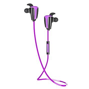 Auriculares Bluetooth audífonos Rymemo 3 Sound EQ inalámbrico sin cables Bluetooth Auriculares internos Con cancelación de ruido para Deportes Ejercicio ...