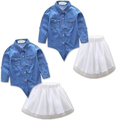puseky Madre Hija Vestido a Juego mamá y yo Traje Camisa de ...
