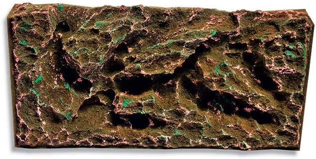 T-Rex Aquarium Decor - Rocky Shoals Background - 10 Gallon