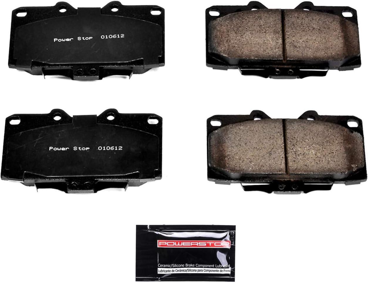 Power Stop Z23-647 Z23 Evolution Sport Carbon-Fiber Ceramic Front Brake Pads
