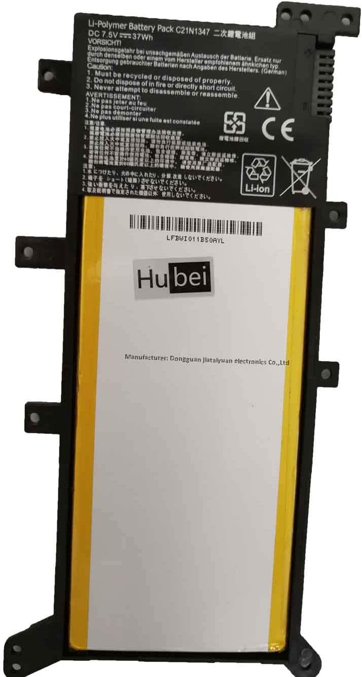 C21N1347 2ICP4/63/134 Laptop Replacement Battery for ASUS X555 X555LA X555LD X555LN X555L X555LB X555LF X555LI X555LJ X555LP X555U X555SJ X555YI A555 A555L F555 A555LD4210 X555LD4030(7.5V 37Wh)