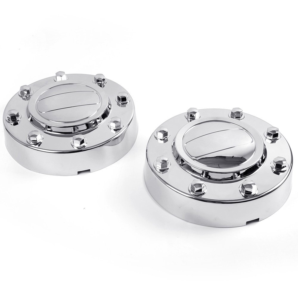Front Alcoa Alloy Wheel Center Caps 1-TON Dually For DODGE RAM 3500 2011-2016 2012 2013 2014 2015 by VRracing (Image #1)
