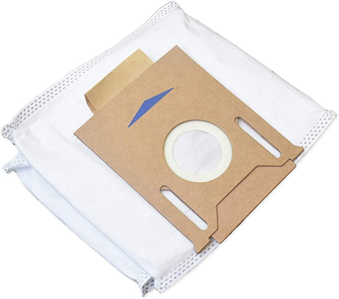 Facibom 5Pcs Dust Bags for OZMO T8//T8AIVI//Sweeping Robot Vacuum Cleaner Parts Replacement Household Cleaning Tools