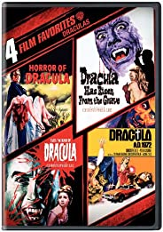 4 Film Favorites: Draculas (Dracula A.D. 1972, Dracula Has Risen from the Grave, Horror of Dracula, Taste the