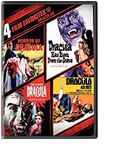4 Film Favorites: Draculas (Dracula A.D. 1972, Dracula Has Risen from the Grave, Horror of Dracula, Taste the Blood of Dracula)