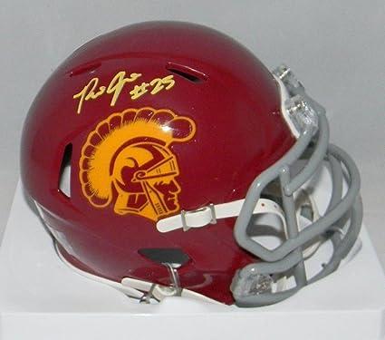 f6006f882 Amazon.com: Autographed Ronald Jones Mini Helmet - Ii Usc Trojans Speed -  JSA Certified - Autographed College Mini Helmets: Sports Collectibles
