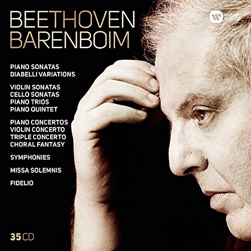 Complete Beethoven: Symphonies, Overtures, Concertos, Missa Solemnis, Fidelio, Diabelli Variations, Piano, Violin & Cello Sonatas, Piano Trios (35CD)