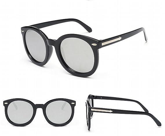 Inkjet Farbe Sonnenbrille Fluoreszierende Farbe Personalisierte Sonnenbrille Männliche Brille Schwarz Graues Objektiv 1XPKWy4y