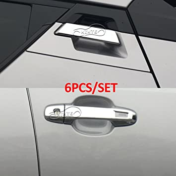 Chrome Door Handle Cover Trim Fit Ford Edge 2015-2019