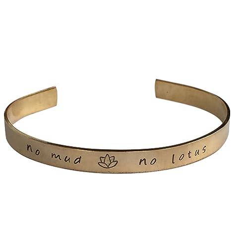 Amazon.com: Sin barro sin Lotus – bracelet-graduation ...