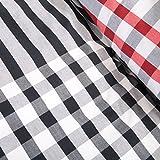 Ink+Ivy Blake Teen Boys Duvet Cover Twin Size - Black, Red , Plaid – 2 Piece Teen Boy Bedding – 100% Cotton Lightweight Duvet Cover Set