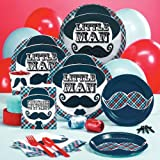 Little Man Mustache Standard Party Pack for 16, Health Care Stuffs