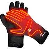 Heated Gloves Electric Hand Warmer Rechargeable Powered Li-ion Battery up to 6 Hours, Snow Winter Warm Outdoor Cycling, Motorcycle, Hiking, Snowboarding, Battery Men Women