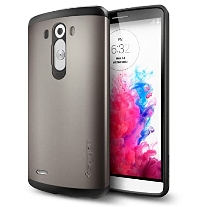 Amazon.com: LG G3 caso, Spigen Slim Armor Variación, talla ...