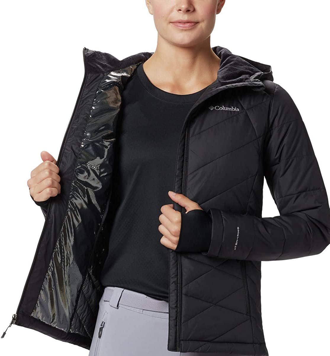 Columbia Women's Heavenly Hooded Jacket: Clothing
